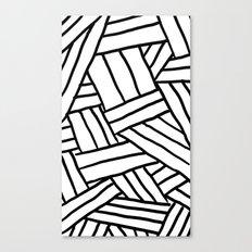 Raw Pattern Series: n.1 Canvas Print