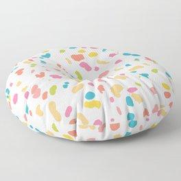 Colorful Animal Print Floor Pillow