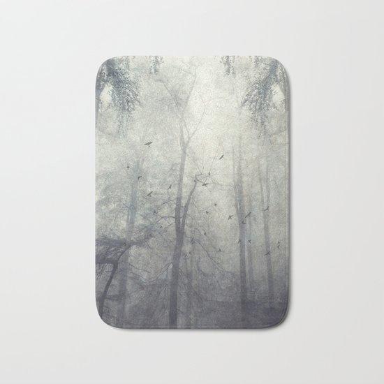 twisted trees Bath Mat