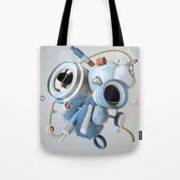 3D Objective Tote Bag
