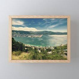 The Wind and the Waves Framed Mini Art Print