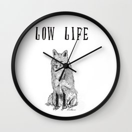 """Low Life"" part 2 Wall Clock"