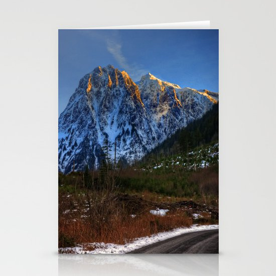 Hidden Mountain Stationery Cards