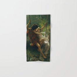 Springtime by Pierre-Auguste Cot 1873, French Hand & Bath Towel