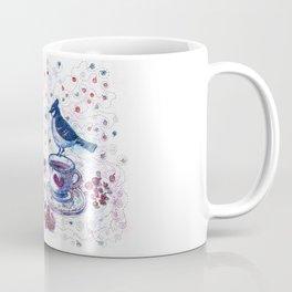 Winter Tea (Ble Jay) Coffee Mug