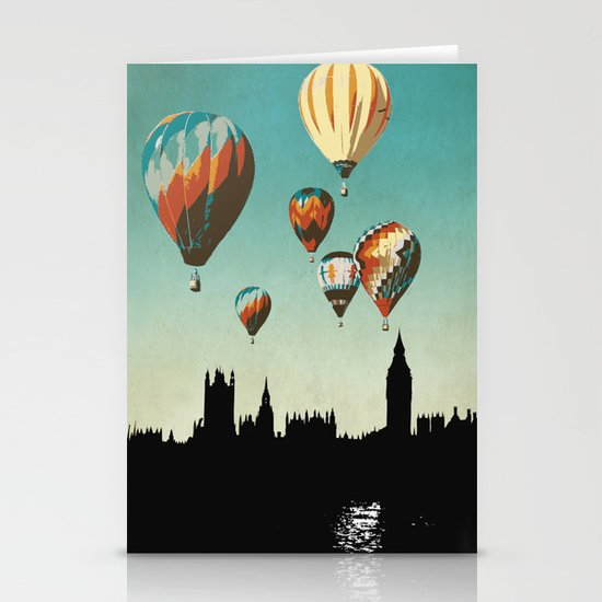 Sky of London Stationery Cards