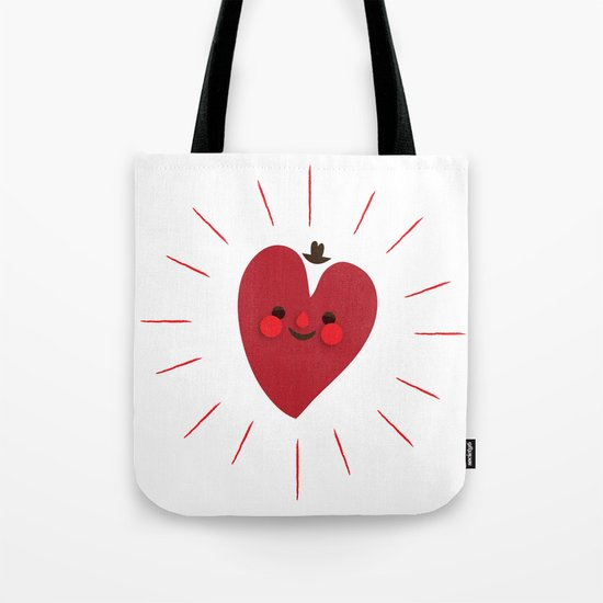 Happy Heart Tote Bag
