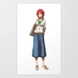 Tomo-chan wa Onnanoko! Art Print
