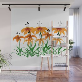 Tiger Lily Wall Mural