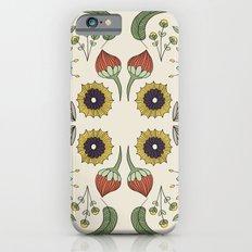 Flora Pattern I Light Slim Case iPhone 6s