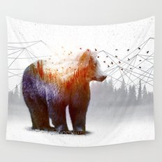 A Wilderness Within / Bear Wall Tapestry