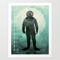 under the sea Art Prints featuring Under The Sea by Chase Kunz