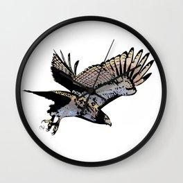 Hawk Wall Clock