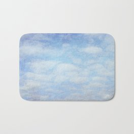 Clouds Bath Mat