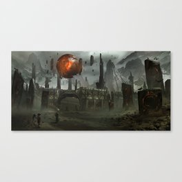 The Epicenter Canvas Print