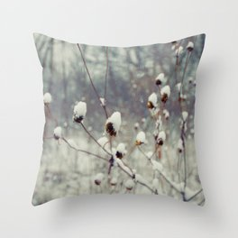 Blu Throw Pillow