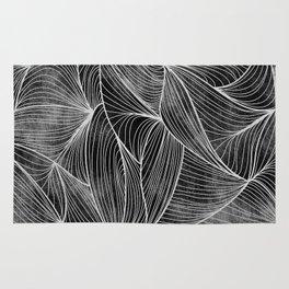 Rifts Black & White Rug