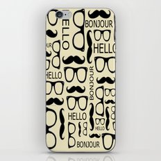 Hello, Bonjour iPhone & iPod Skin