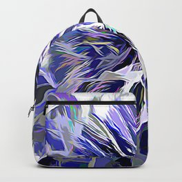 The Abstract Chestnut In Color Backpack