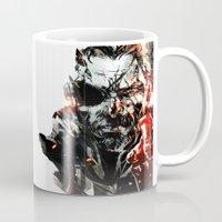 metal gear solid Mugs featuring Metal Gear Solid V by Hisham Al Riyami