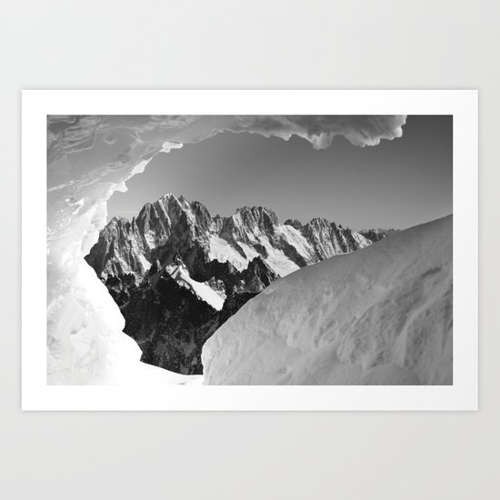 French Alps, Chamonix, France. (1) Art Print