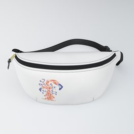 Flamingo Meditation Fanny Pack