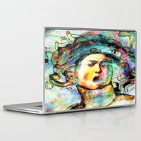 mythology Laptop & iPad Skins featuring Mythology by Ganech joe