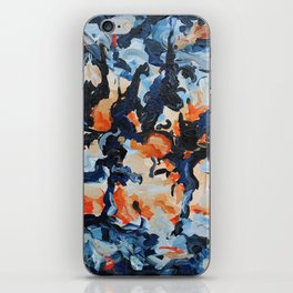 Muse- Bold and Lively Abstract Painting Original art iPhone Skin