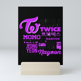 Twice Mini Art Print