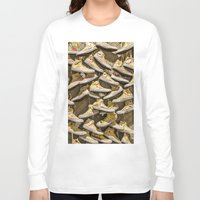 shoe Long Sleeve T-shirts featuring Shoe Art by SotirisFilippou_Photography