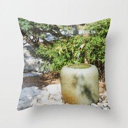 Japanese garden 6 Throw Pillow