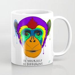Be yourself, be different - chimpanzee Coffee Mug