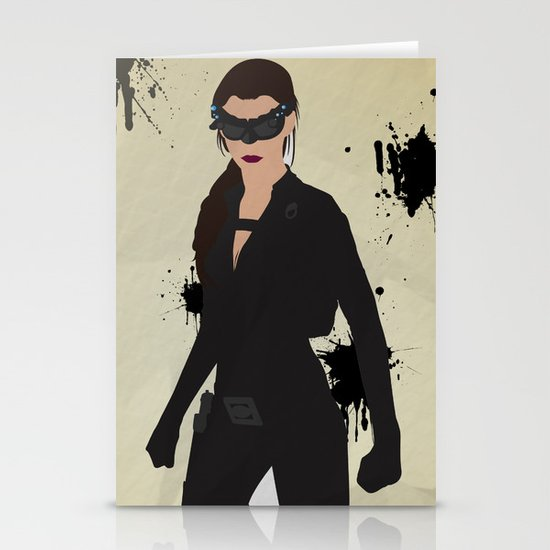 The Dark Knight: Catwoman Stationery Cards