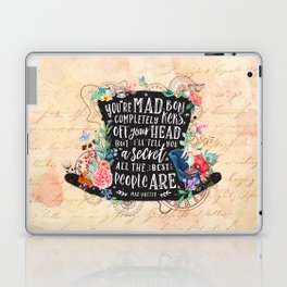 Mad Hatter Laptop & iPad Skin