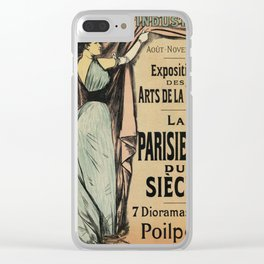 La Parisienne 1892 Women's Art Clear iPhone Case