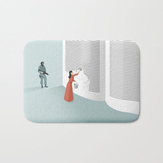 Banned From Literacy Bath Mat