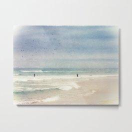 Surfin' Metal Print
