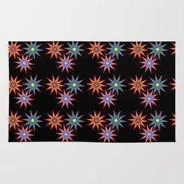 Colorful Stars II Rug