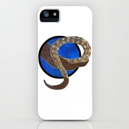 Creature of Water (porthole edit) iPhone Case
