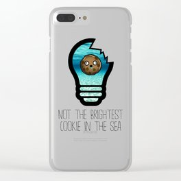 Not the Brightest Cookie in the Sea Clear iPhone Case