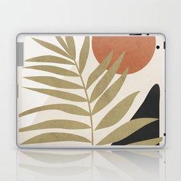 Tropical Leaf- Abstract Art 9 Laptop & iPad Skin