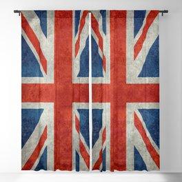 """UK British Union Jack flag """"Bright"""" retro Blackout Curtain"""