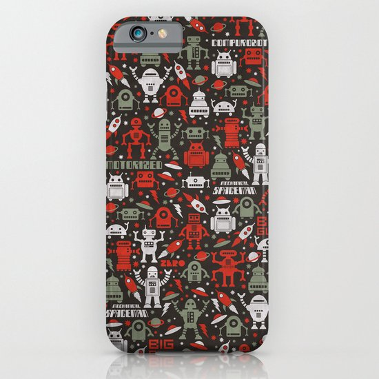 Vintage Robots iPhone & iPod Case