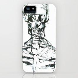 INK SKELETON iPhone Case
