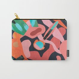 Exploded Rose Carry-All Pouch