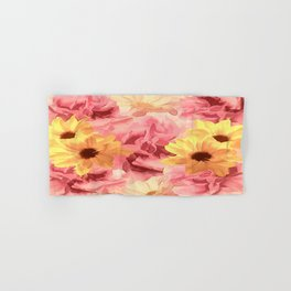 Summer Day Floral Hand & Bath Towel