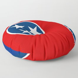 Flag of Tennessee - Authentic High Quality Image Floor Pillow
