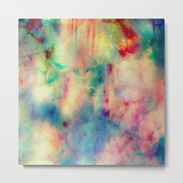 Fume Color Splash 06 Metal Print