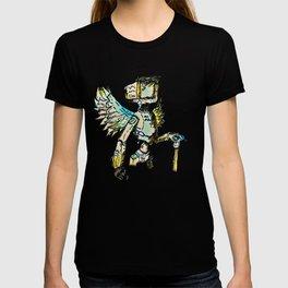 A black winged angel. T-shirt