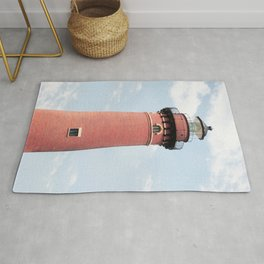 Red Lighthouse Rug